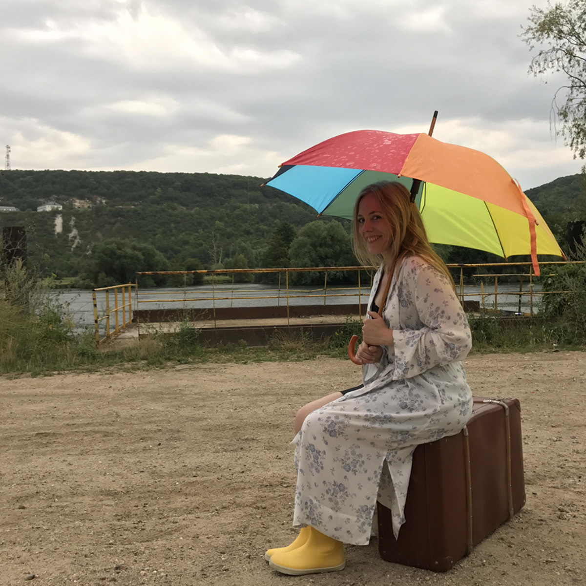 "Tournage du clip ""L'emmerdeuse"" - 2017"