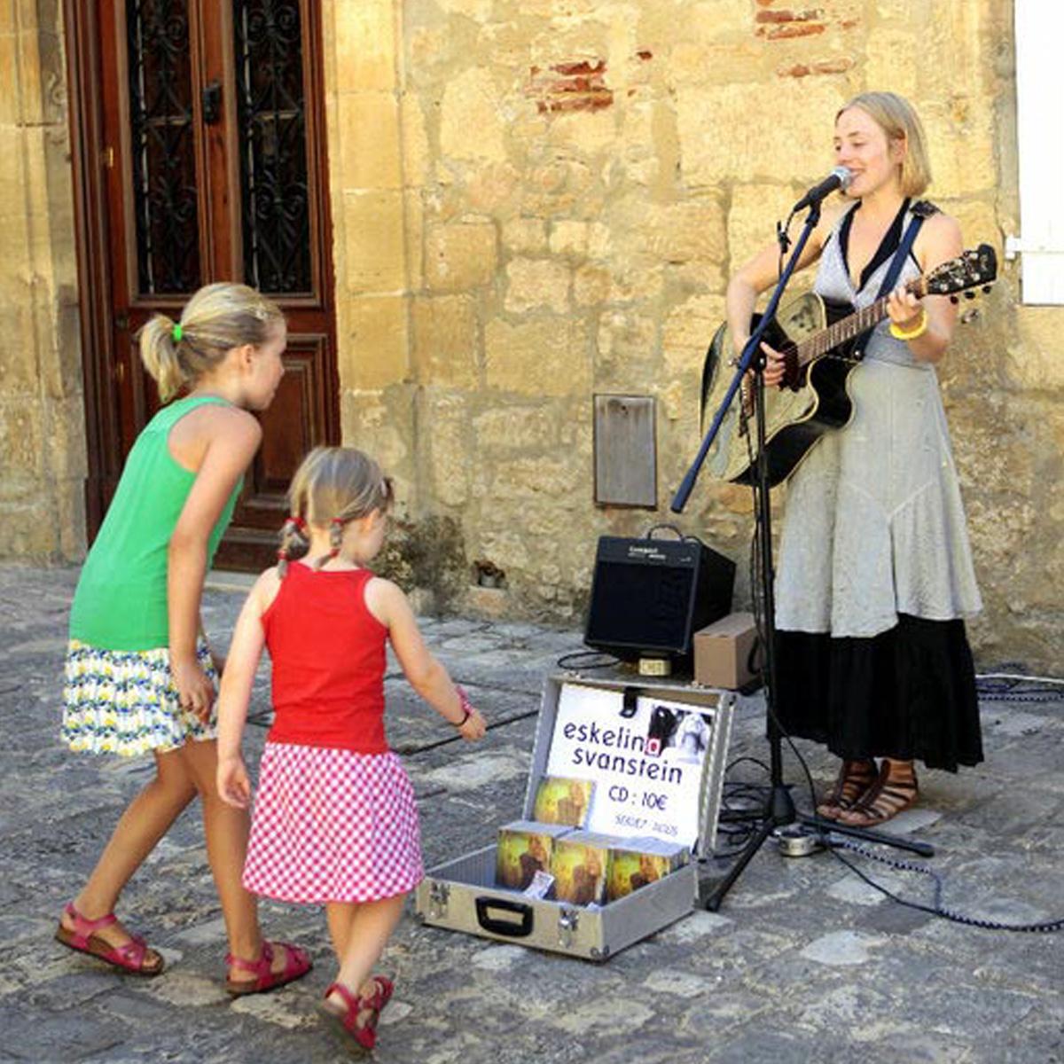Dans les rues de Sarlat (24) 2012.